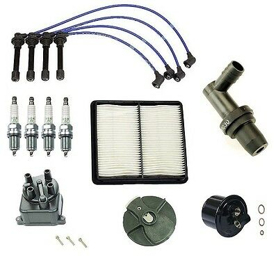 Honda Civic EX Si Complete Tune Up Kit Filters Yec Cap Rotor NGK Wires Plugs