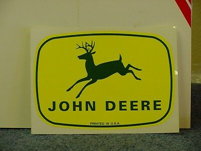(2) JOHN DEERE  large - STICKERS