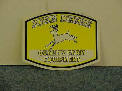 John Deere  Small Quality Farm Equipment - (2) Stickers