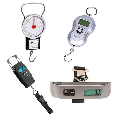 Digital LCD Travel Portable Luggage Suitcase Bag Handheld Weighing Scale