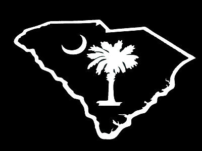 Star and crescent moon decal male models picture for Palmetto tree and moon tattoo