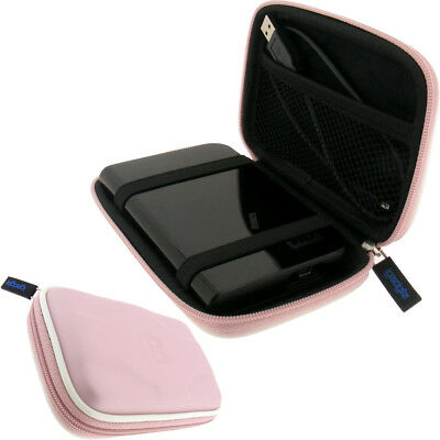 Pink Case Cover for Western Digital My Passport USB Hard Drive