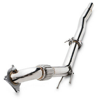 Direnza Stainless Exhaust Decat De Cat Downpipe For Vw Golf Jetta 2.0 Ccta Cawb