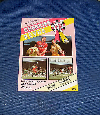 AFC Bournemouth -v- Walsall  1986-1987