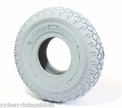 3.00-4 (260x85) Inch POWER Wheelchair Scooter QUAD Tires MOBILITY ATV Tyres Grey