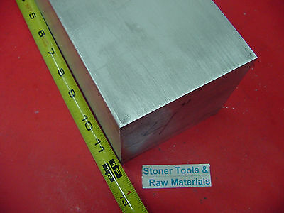 "2 pieces 4"" X 4"" ALUMINUM 6061 SQUARE SOLID BAR 12"" long T6 Flat New Mill Stock"