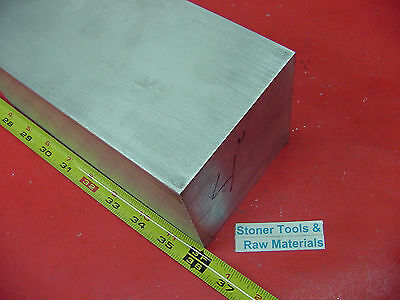 "4"" X 4"" ALUMINUM 6061 SQUARE SOLID BAR 36"" long T6511 Flat New Mill Stock"