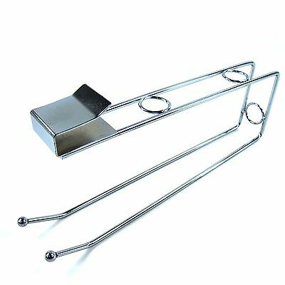 Stainless Multi Uses Sink Cabinet Kitchen Towel Holder Kitchen Paper Hanger New