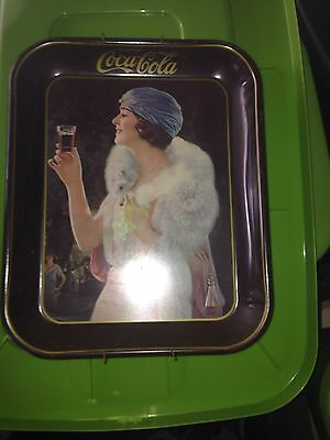 Vintage Coca Cola Tray's Collectible's  Tin Serving Tray's 3 Total