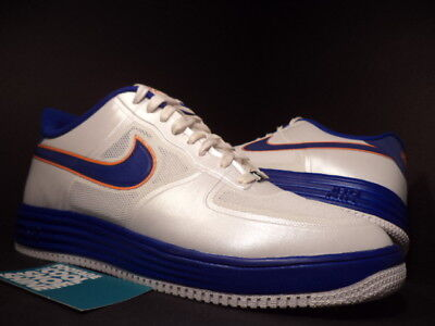 Nike LUNAR AIR FORCE 1 FUSE NRG MEDICOM WHITE BLUE ORANGE GOLD 573980-104 DS 5f9bdc2198