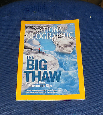 National Geographic Magazine June 2007 - Artic Wildlife/global Melting/china