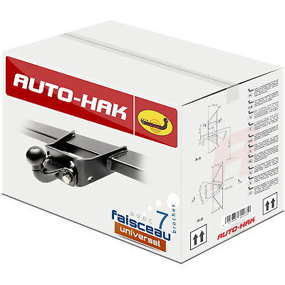 Attelage rigide fixe Ford Transit fourgon 00-13 + faisceau universel 7 broches