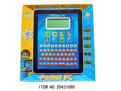 Educational Tablet Ipad Laptop Computer Toddler Child Kids Learning Toy Game
