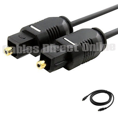 Optical Fiber Optic Toslink Digital Audio Cable 50Ft Gold Plated Dolby Dts