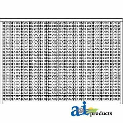 AL67280 Side Screen RH Fits John Deere: 2155, 2355N