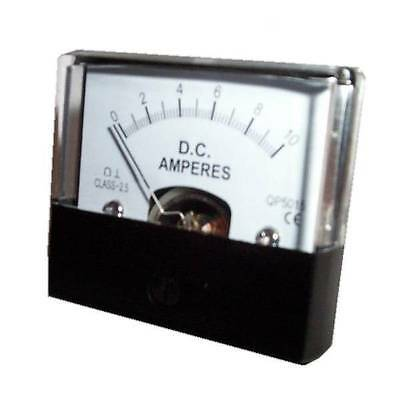 10A DC Panel Current Meter Style MU45