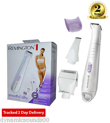 Remington WPG4030 Lady Shaver Body Bikini Precision Trimmer Grooming Kit Set