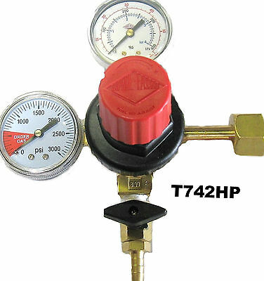 Co2 Regulator Draft Beer Parts - Dual gauge TAPRITE - T742HP -