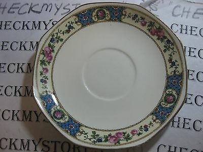 Vintage Antique HOMER LAUGHLIN C7N5 MADE IN USA SAUCER TEA CUP COFFEE PLATE