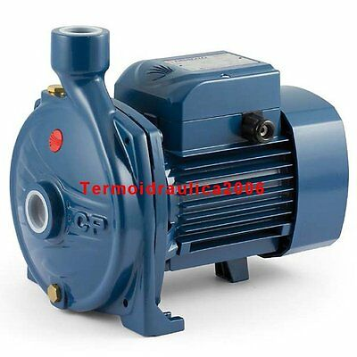 Electric Centrifugal Water CP Pump CPm132A 0,85Hp Steel impeller 240V Pedrollo