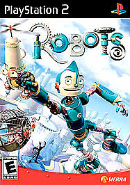 Robots (PlayStation 2, 2005) PS2 DISC ONLY IN PAPER SLEEVE, TRUSTED SELLER!!