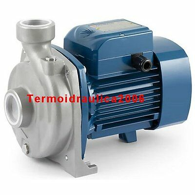 Stainless Steel AISI 316 Pump open impeller NGAm1A-PRO 1Hp 240V Pedrollo