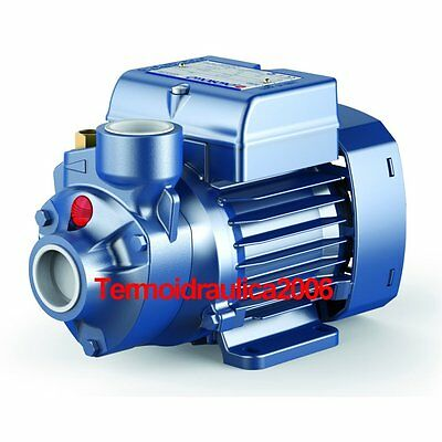 Electric Peripheral Water Pump PK 60 0,5Hp Brass impeller 400V Pedrollo