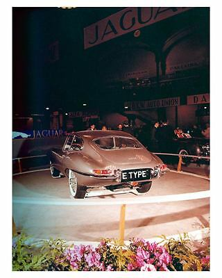 1961 Jaguar XKE E Type Automobile Photo Poster zuc7238