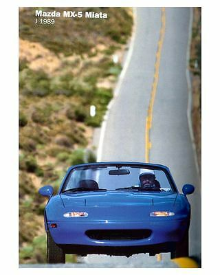 1989 Mazda MX5 Miata Automobile Photo Poster zuc7323