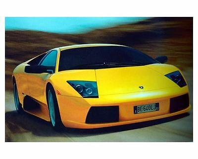 2001 Lamborghini Murcielago Automobile Photo Poster zuc7351
