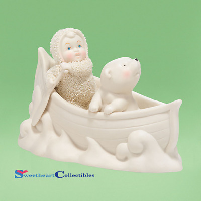 Department 56 Snowbabies 4038097 Two In A Canoe 2014