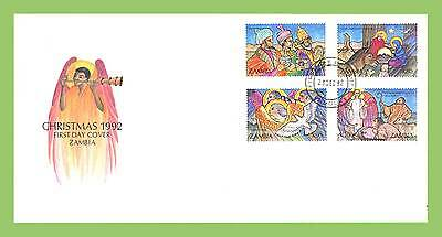 Zambia 1992 Christmas First Day Cover
