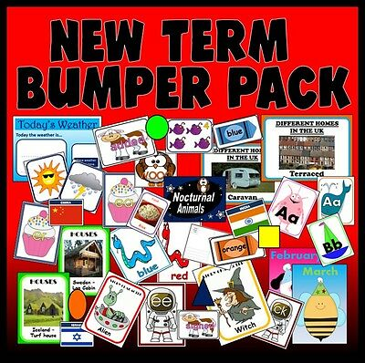 CD NEW TERM Primary classroom teaching resources display ks1 eyfs sen nqt