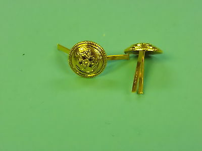 b1118 WWII Japanese Navy EM & NCO buttons for Field Cap chin strap