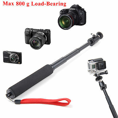 Extendable Handheld Selfie Monopod Holder for Compact Camera Camcorder GoPro New