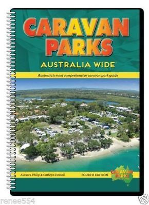 CARAVAN PARKS-AUSTRALIA WIDE 4th Edition New Camping RV Accessories Book Travel