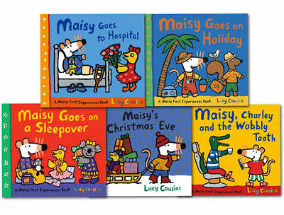 Lucy Cousins Maisy Mouse Loves Collection 5 Books Set Early Learners Children