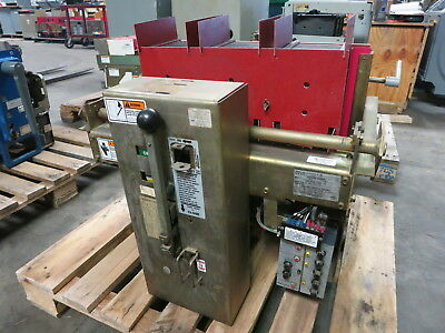 Siemens-Allis LA-3200A 3200 Amp Air Breaker /w LSIG Static Trip II Type TSIG(3T)