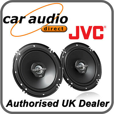 "JVC CS-J620X 16cm 6.5"" 300W 2-Way Car Stereo Audio Speakers Door Shelf New Pair"