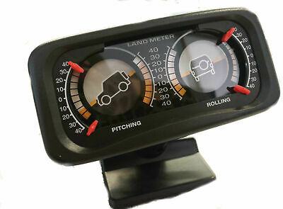 Land Rolling Pitching Meter, Car 4x4 4WD Accessories, New, Free Postage