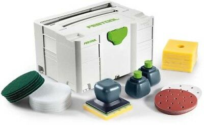 Festool Oil Dispenser Surfix Complete Set Incl. Systainer Sys 3 T-Loc 498063