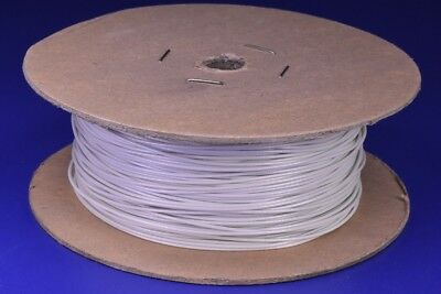 500' Mil-Spec Copper Electrical Wire 600V 24 Awg 7 Strand MIL-W-16878/17 WHITE