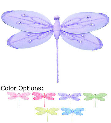 Dragonfly Nursery Girls Bedroom Baby Bathroom Wall Ceiling Hanging Decoration