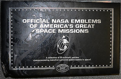 Scarce Official NASA Emblems of Americas Great Space Missions Apollo 11 + MORE.