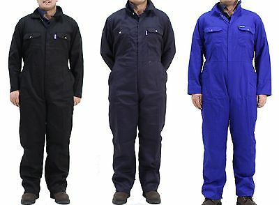NEW Click Boilersuit Coverall Overalls Navy Blue, Black, Blue - ALL SIZES