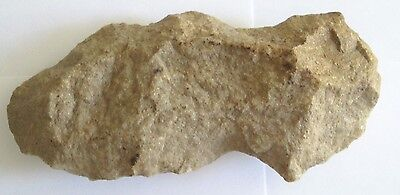 "STONE HAND HELD AXE HEAD ANTIQUE 8"" Stone Tomahawk axe"