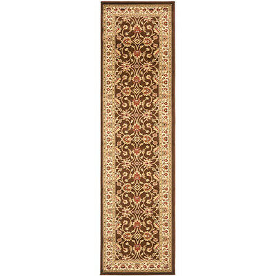 Safavieh Lyndhurst Traditional Oriental Brown/ Ivory Rug (2'3 x 16')