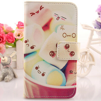 Cute Candy PU Pelle Custodia Case Guscio Cover Wallet Skin Per NGM Dynamic Star