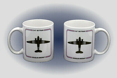 WW II C-47 Skytrain Coffee Mug - Dishwasher and Microwave Safe