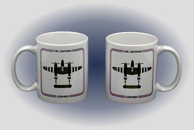 WW II P-38 Lightning Coffee Mug - Microwave and Dishwasher Safe